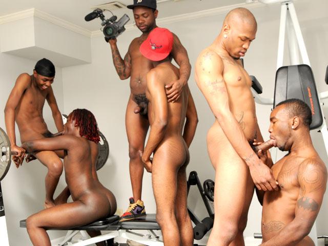 Www black thug orgy com